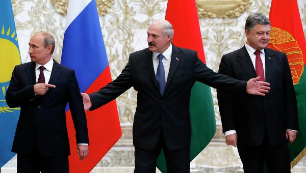 Лукашенко, Порошенко, Путин
