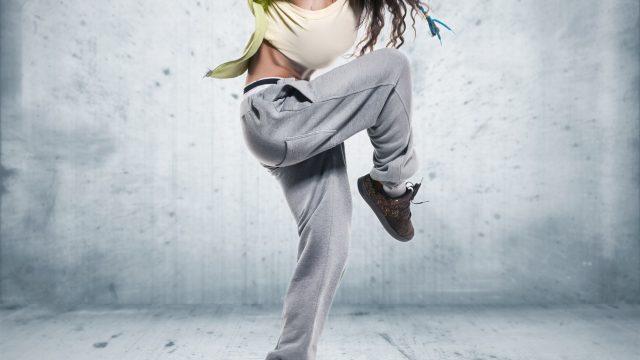 Хип-хоп танцовщица