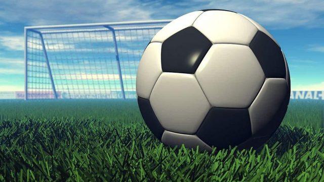 Футбольный мяч и ворота