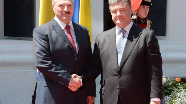 Разговор Лукашенко с Порошенко