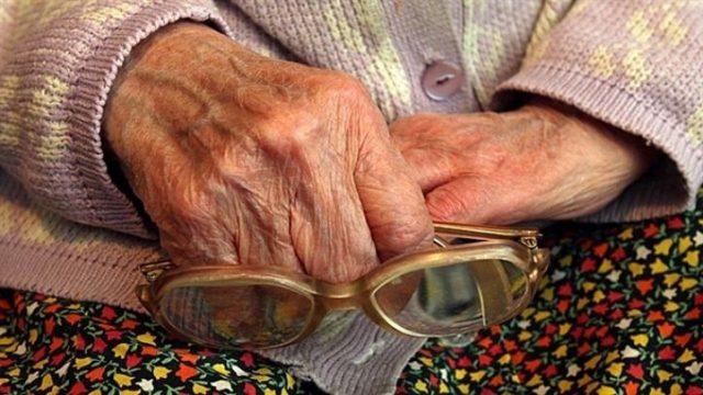 Ограбление пенсионерки