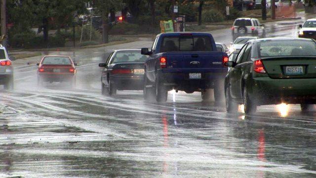 Дожди в Минске
