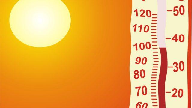 Солнце и термометр
