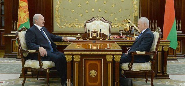 Лукашенко и Рапота