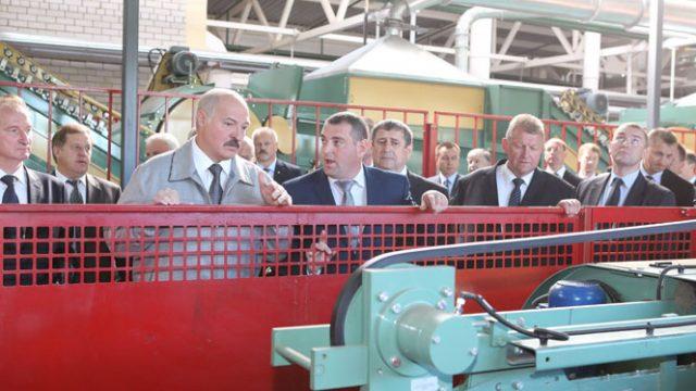 Лукашенко о льняной отрасли
