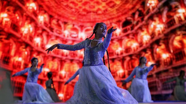 узбекская танцовщица