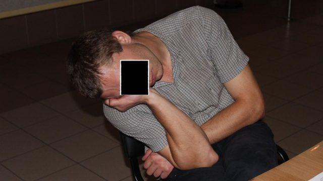 водитель уснул в гаи