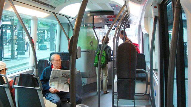 комфортный общественный транспорт