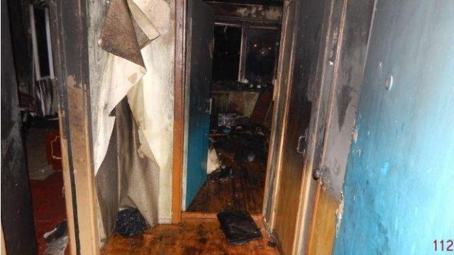 пожар в общежитии Орши
