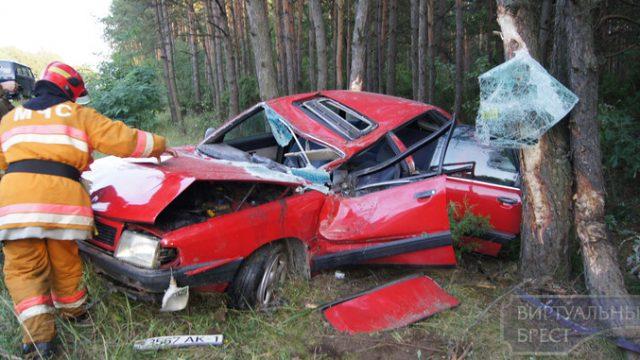 Авария в Брестском районе