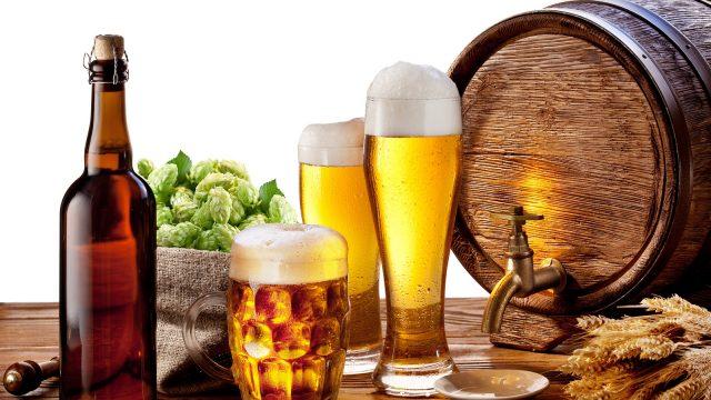 Конфискованное пиво