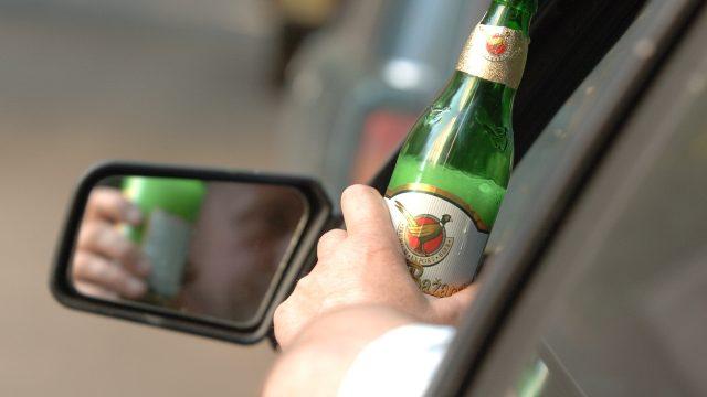 Спиртное за рулём