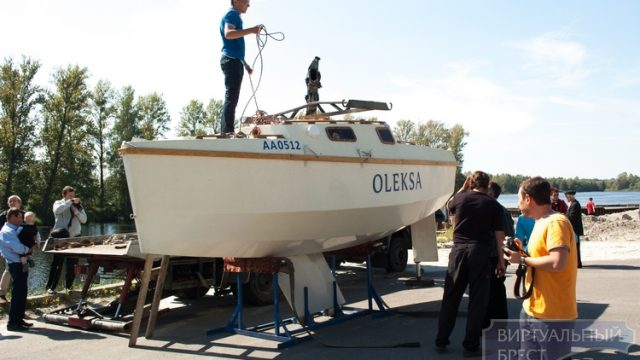 Яхта брестчанина