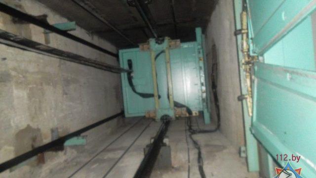 Застрявший лифт