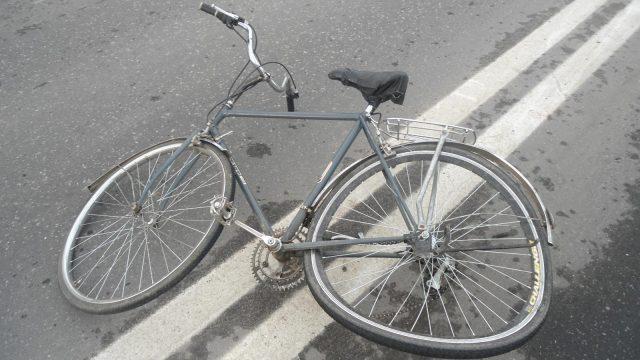 Сбить велосипедиста