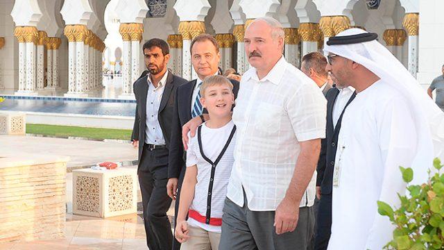 Лукашенко в мечети