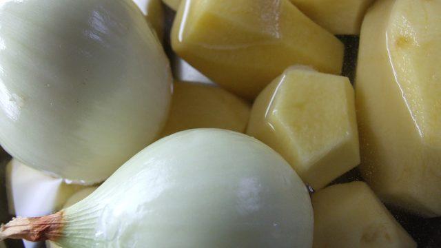 Экспорт картошки и лука