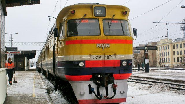 Поезд на Ригу