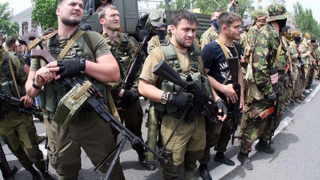 Участники боев на Донбассе
