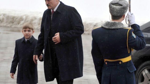 Лукашенко про сына