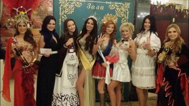 Белоруска на конкурсе