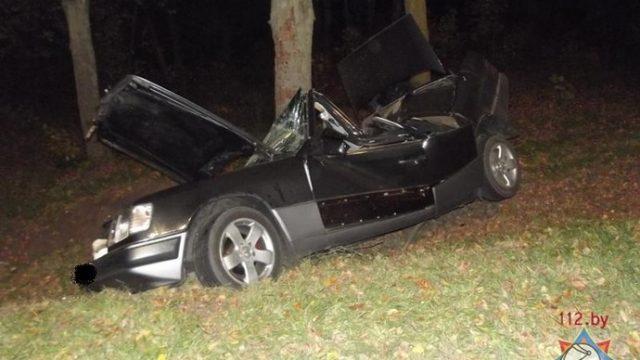 Разбитый автомобиль