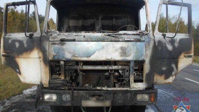 пожар в авто