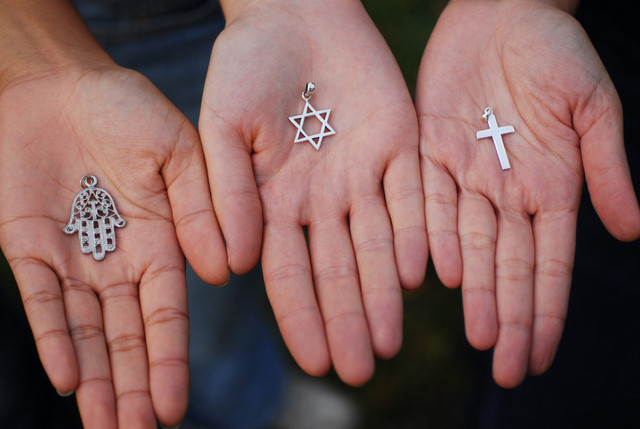 Symbols of the Three Monotheistic Religions