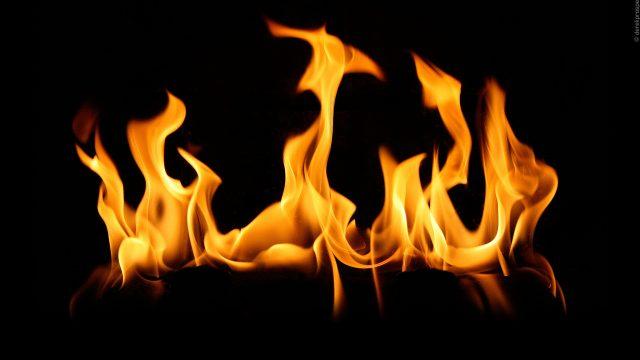 Обгоревшее тело