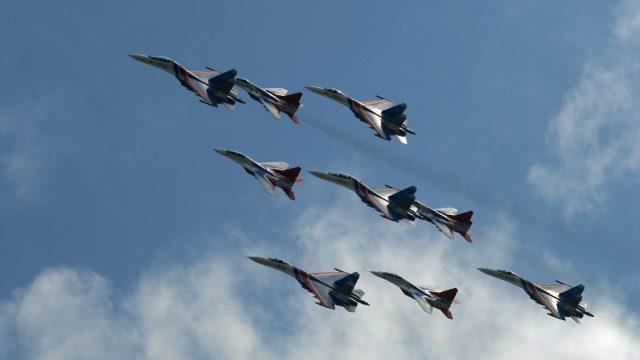 База СУ-27 в Беларуси