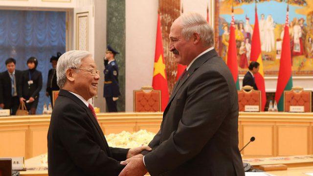 Лукашенко про Вьетнам