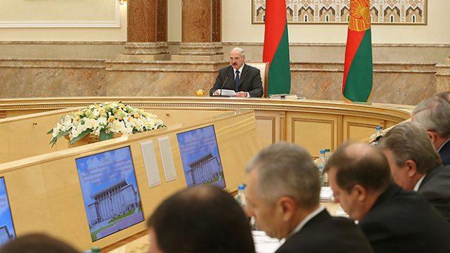 Лукашенко про кредиты