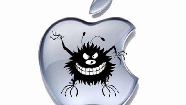 вирус атаковал Apple