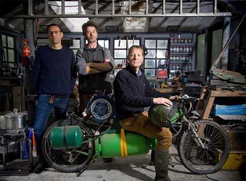 велосипед на дровах
