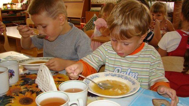 питание в детсаду
