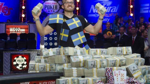 Мартин Якобсон выиграл 10 млн долларов в покер
