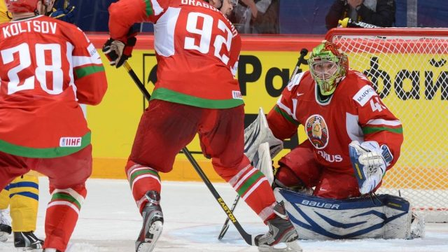Сбооная Беларуси по хоккею