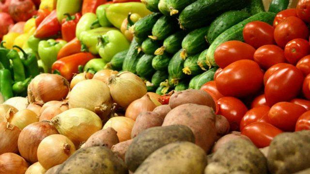 Цены на картофель и овощи