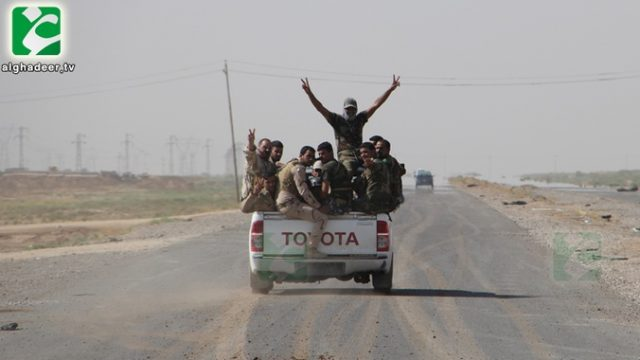 """Курдская армия """"Пешмерга"""" отбили у террористов город  Джалаула"""