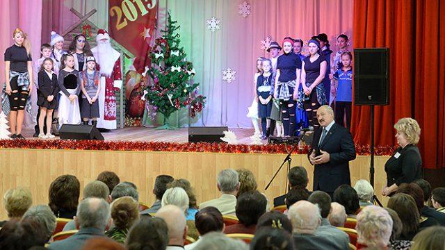 Подарки для Лукашенко