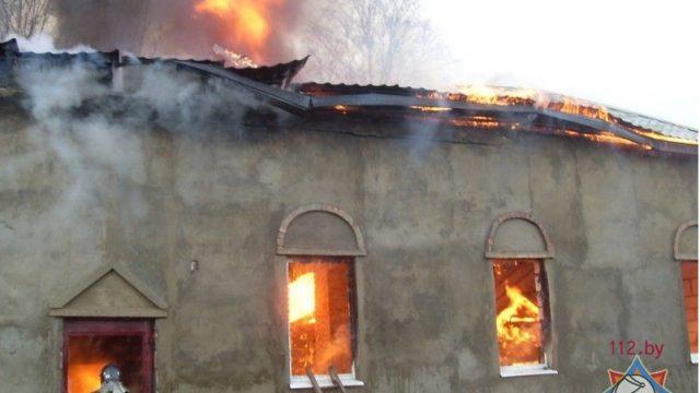 горел храм Св. Николая Чудотворца