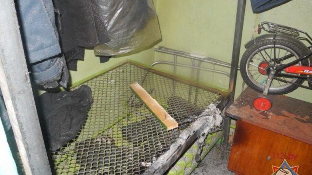 сгоревшая кладовка