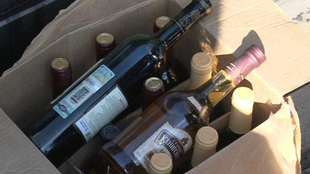 партия алкоголя