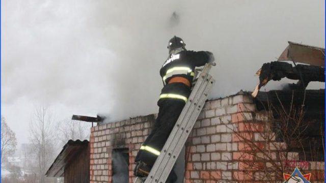 на пожаре сгорел покойник