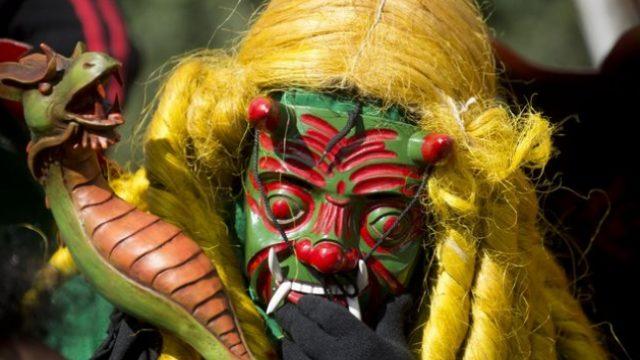 В воскресенье жители Гватемалы сжигали дьявола