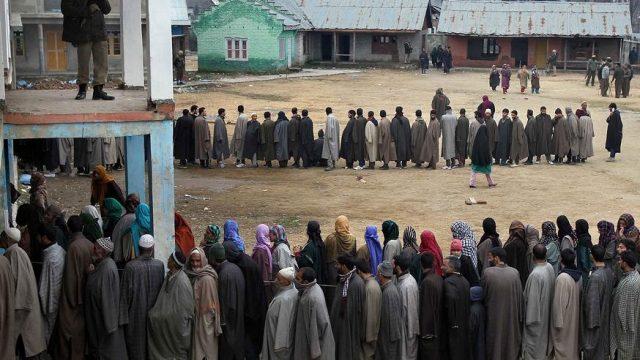 выборы в Кашмире