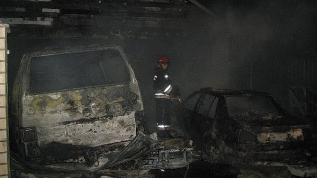 Пожар в Рогачеве