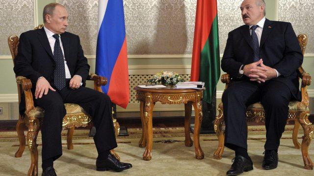 Решение Путина и Лукашенко