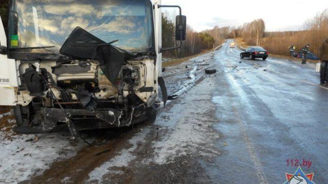 ДТП в Славгородском районе: водителя удалось спасти