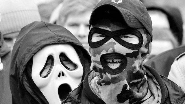 маски митинг